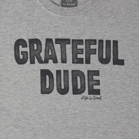 Men's Grateful Dude Long Sleeve Crusher Tee