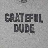 Men's Grateful Dude Long Sleeve Crusher Tee
