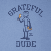 Men's Grateful Dude Jake Long Sleeve Crusher Tee
