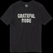Men's Grateful Dude Smooth Tee