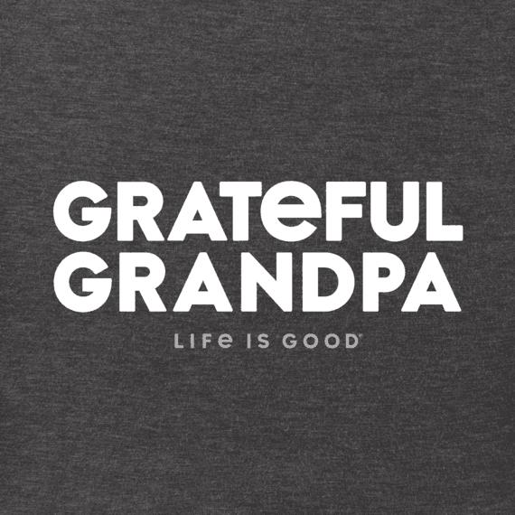 Men's Grateful Grandpa Crusher Tee