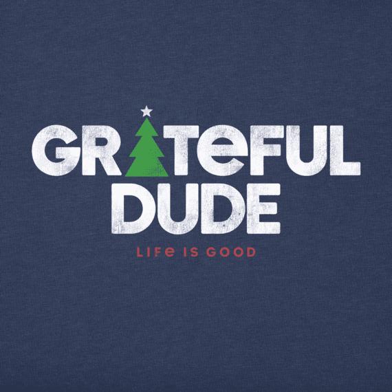 Men's Grateful Holiday Long Sleeve Crusher Tee