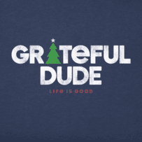 Men's Grateful Holiday Long Sleeve Crusher Tee