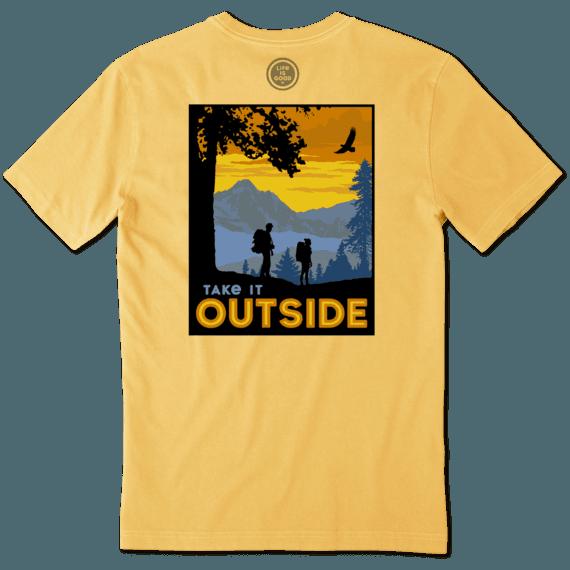 Sale Men's Great Outdoor Camp Crusher Tee | Life is Good