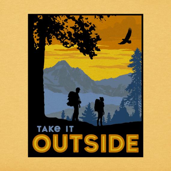 Men's Great Outdoor Camp Crusher Tee