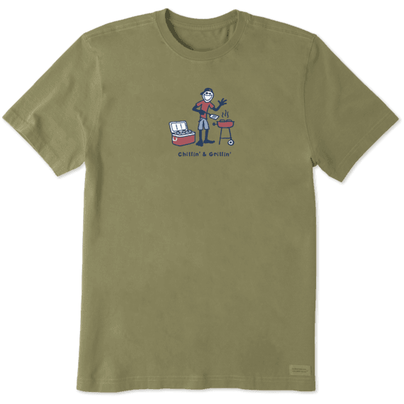 Men's Grill Jake Vintage Crusher Tee