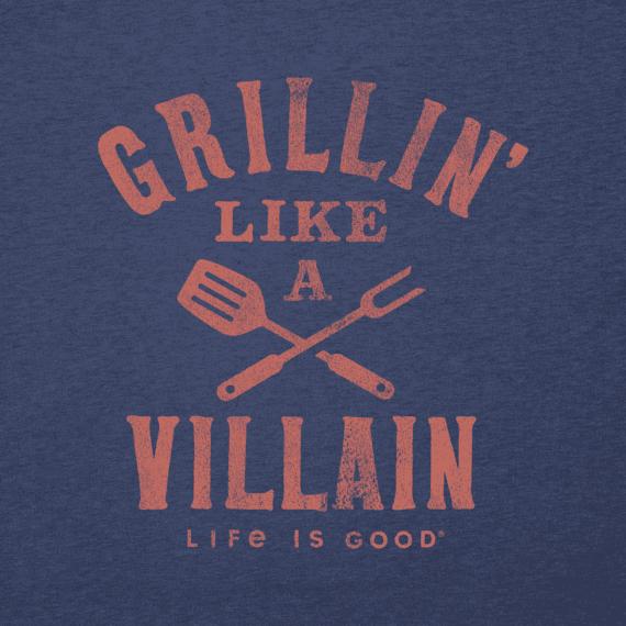 Men's Grillin' Like a Villain Cool Tee