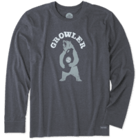Men's Growler Long Sleeve Crusher Tee