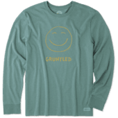 Men's Gruntled Long Sleeve Crusher Tee