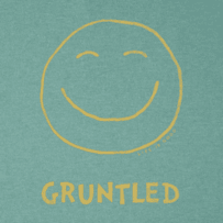 Men's Gruntled Long Sleeve Crusher Tee