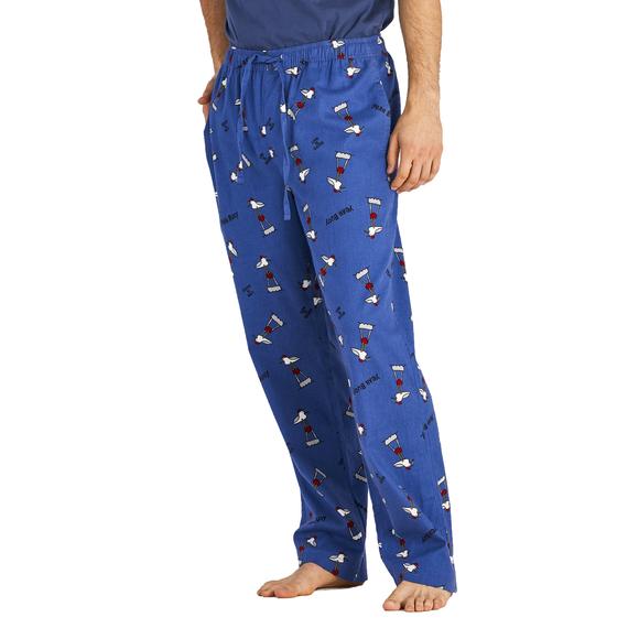Men's Gull Print Classic Sleep Pant