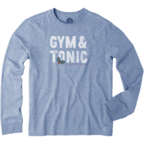 Men's Gym and Tonic Long Sleeve Crusher Tee
