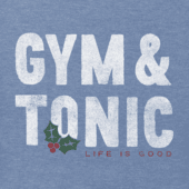Men's Gym and Tonic Long Sleeve Crusher Tee