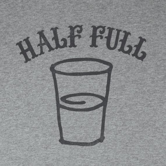 Men's Half Full Crusher Tee