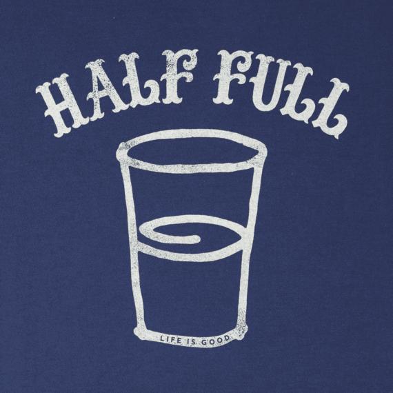 Men's Half Full Arc Long Sleeve Smooth Tee