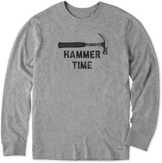 Men's LIG Hammer Time Long Sleeve Crusher Tee