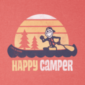Men's Happy Camper Canoe Crusher Tee