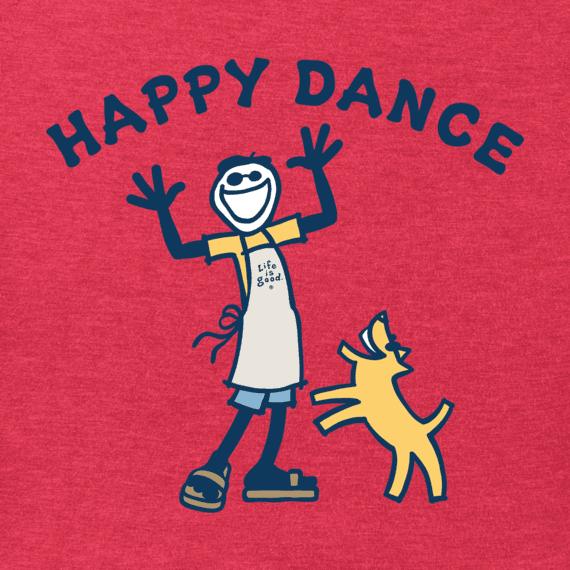 Men's Happy Dance Jake Crusher Tee