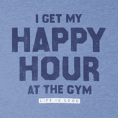 Men's Happy Hour At The Gym Cool Tee