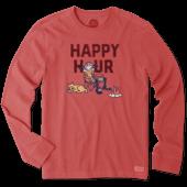 Men's Happy Hour Camp Long Sleeve Crusher Tee