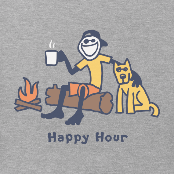 Men's Happy Hour Vintage Crusher Tee
