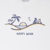 Men's Happy Hour Vista Crusher Tee
