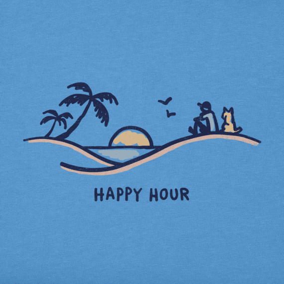Men's Happy Hour Vista Crusher Tee