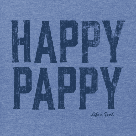 Men's Happy Pappy Crusher Tee