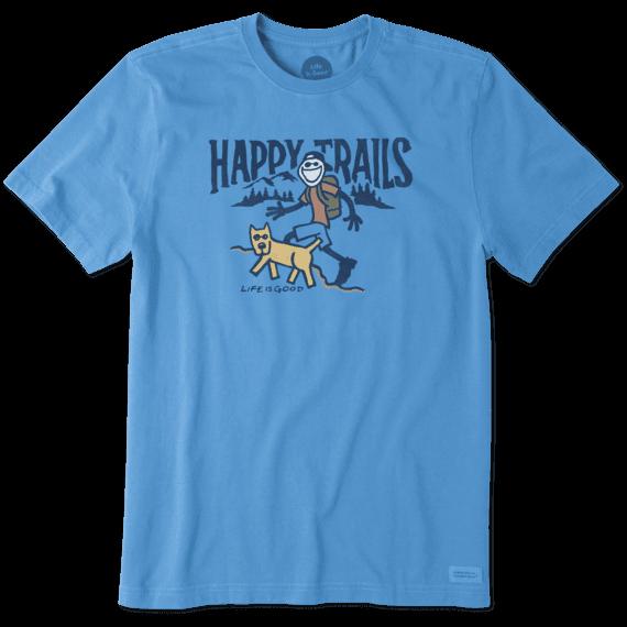 Men's Happy Trails Crusher Tee