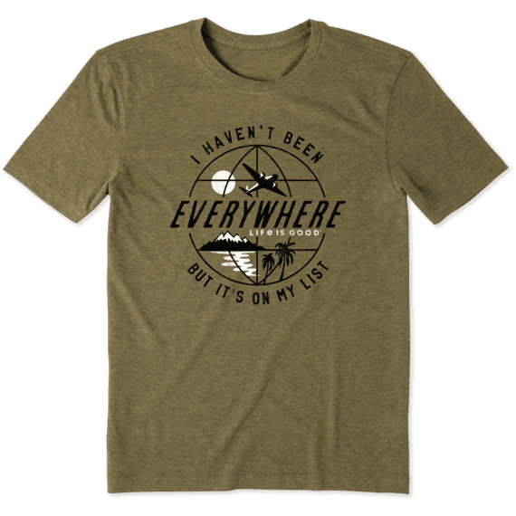 Men's Haven't Been Everywhere Globe Cool Tee
