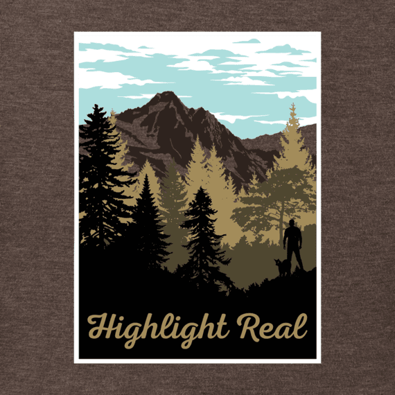 Men's Highlight Real Crusher Tee