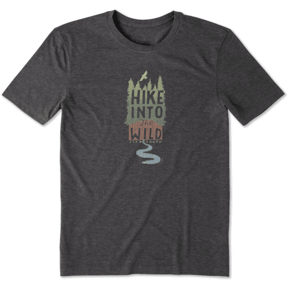 Men's Hike Into The Wild Cool Tee