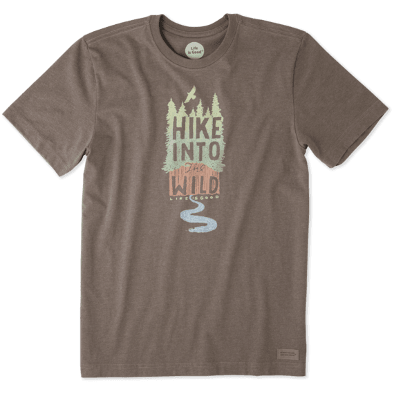 Men's Hike Into The Wild Crusher Tee