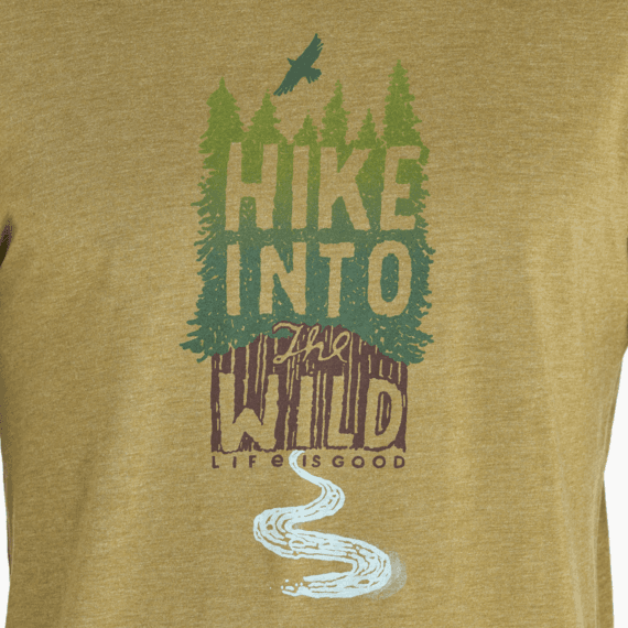 Men's Hike Into The Wild Long Sleeve Cool Tee
