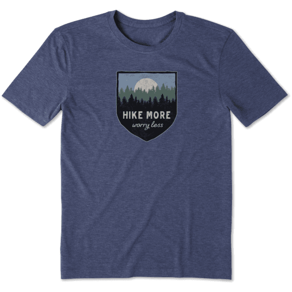 Men's Hike More Cool Tee