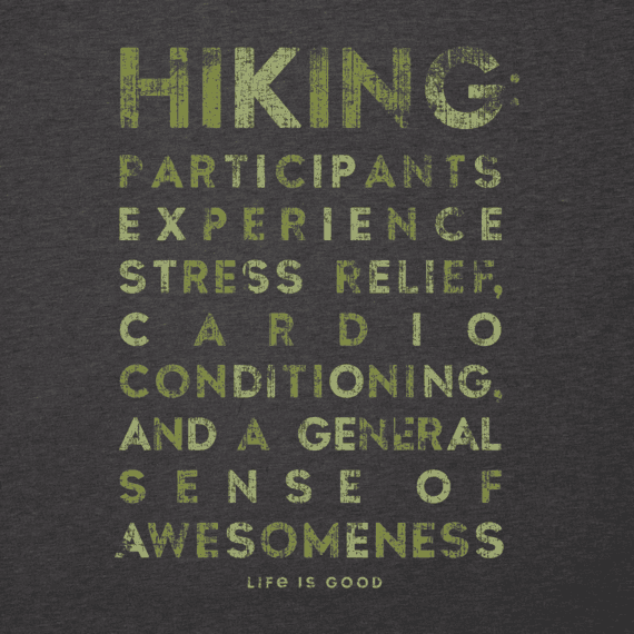 Men's Hiking Awesomeness Cool Tee