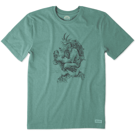 Men's Hiking Goat Crusher Tee
