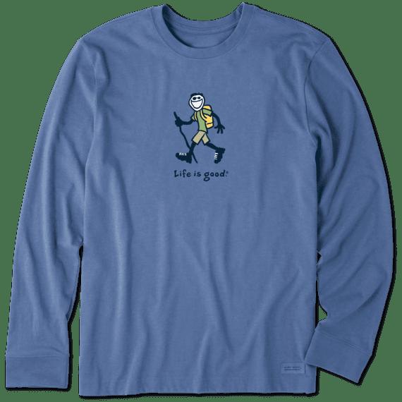 Men's Hiking Jake Long Sleeve Vintage Crusher Tee