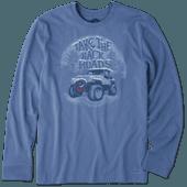 Men's Holiday Backroads 4X4 Long Sleeve Crusher Tee