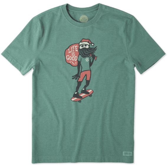 Men's Holiday Skater Crusher Tee