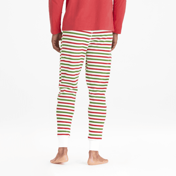 Men's Holiday Stripe Holiday Squad Thermal Sleep Pant