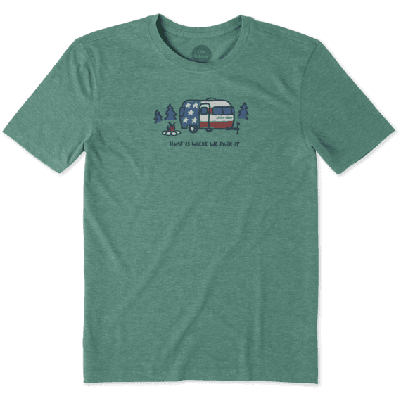 Men's Home Is Where You Park It Cool Tee
