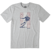 Men's Home Of The Brave Football Crusher Tee