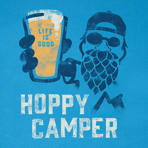 Men's Hoppy Camper Crusher Tee