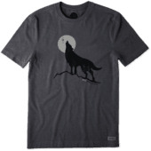 Men's Howling Wolf Crusher Tee