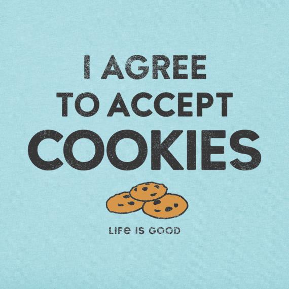 Men's I Accept Cookies Crusher Tee
