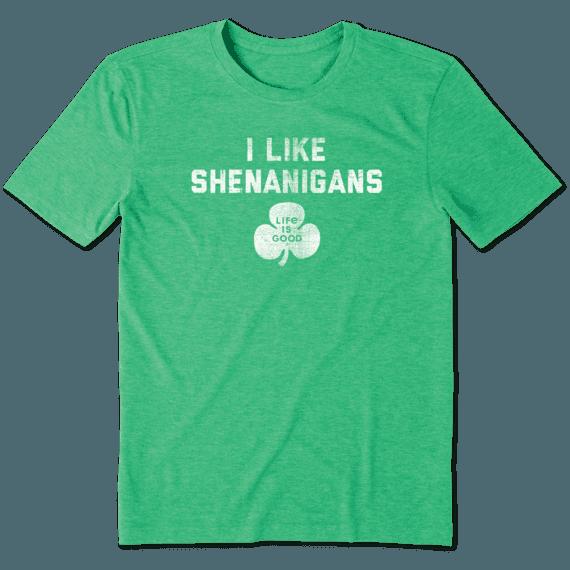 Men's I Like Shenanigans Cool Tee