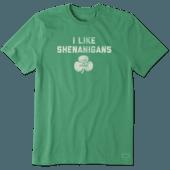 Men's I Like Shenanigans Crusher Tee
