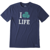 Men's I Shamrock Life Crusher Tee