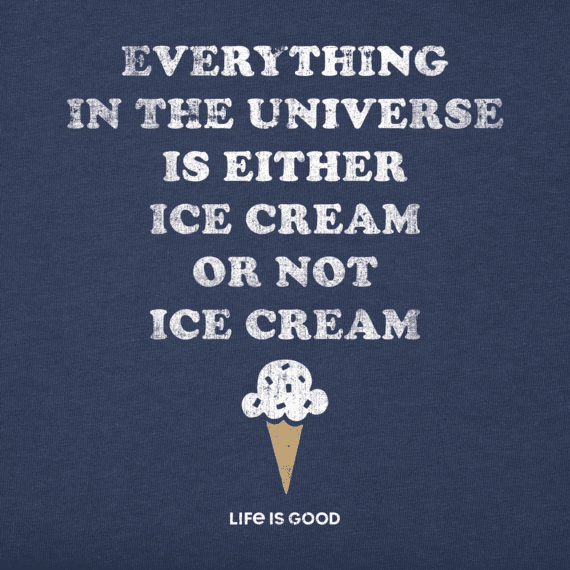 Men's Ice Cream Is Everything Crusher Tee